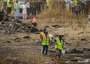 Nigeriyada hərbi təyyarə qəzası nəticəsində 7 nəfər həlak olub