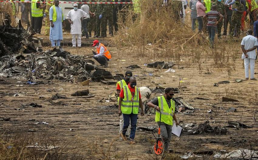 В столице Нигерии упал самолет
