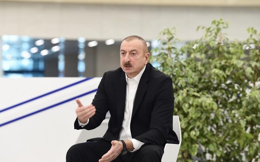 Президент Азербайджана: Наше государство всегда находится рядом с гражданами