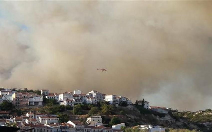 İspaniyanın Palma adalarında yanğınla əlaqədar 500 nəfər təxliyə olunub