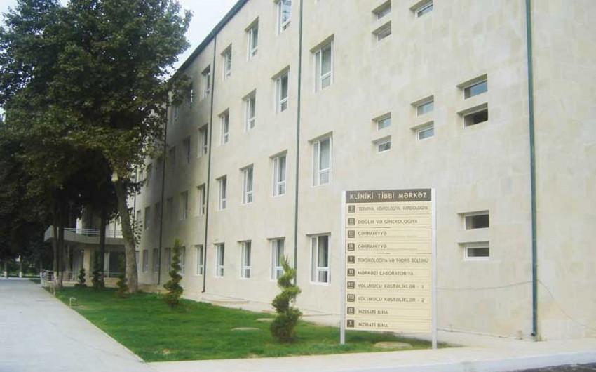 Qeyri-iş günlərində Kliniki Tibbi Mərkəzin Toksikologiya şöbəsinə müraciət edənlərin sayı açıqlanıb