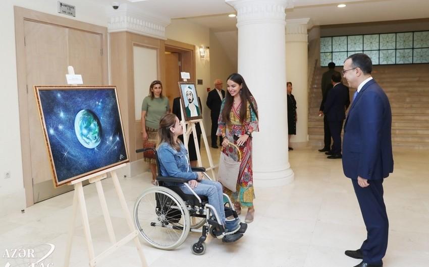 Вице-президент Фонда Гейдара Алиева Лейла Алиева присутствовала на премьере антрепризы Насими