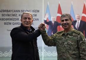 Turkish Defense Minister visits Azerbaijan