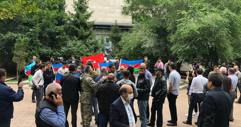 В Москве прошла акция в поддержку Азербайджанской армии