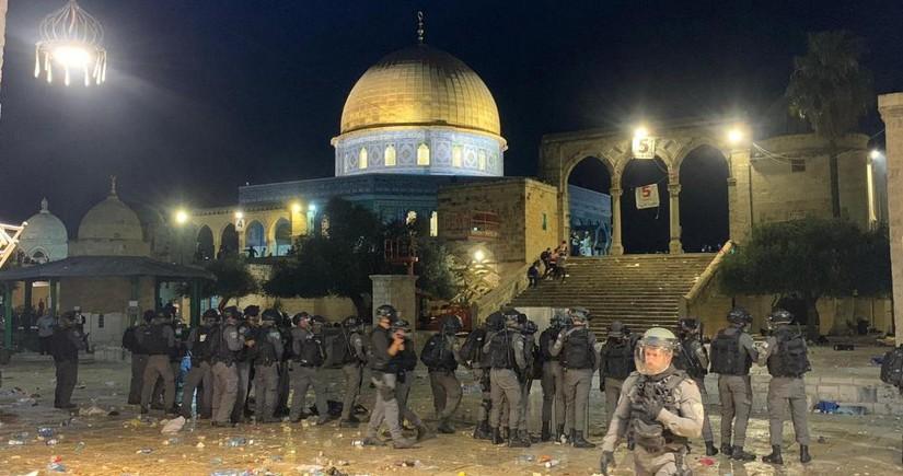 İsrail polisi ilə fələstinlilər arasında qarşıdurma olub