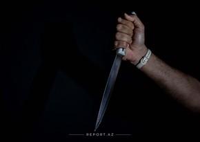 Bakıda kişi arvadını və qayınanasını bıçaqladı