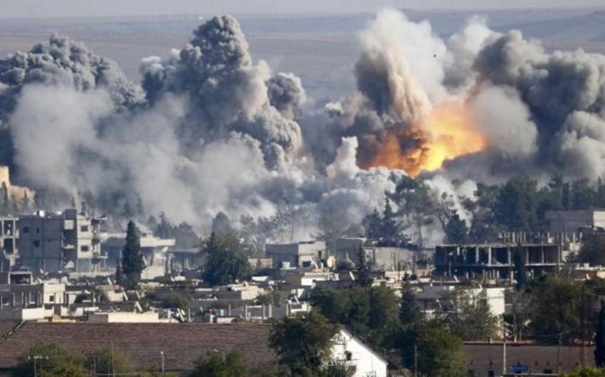 ABŞ Mosulda İŞİD-in qərargah kimi istifadə etdiyi xəstəxananı bombalayıb