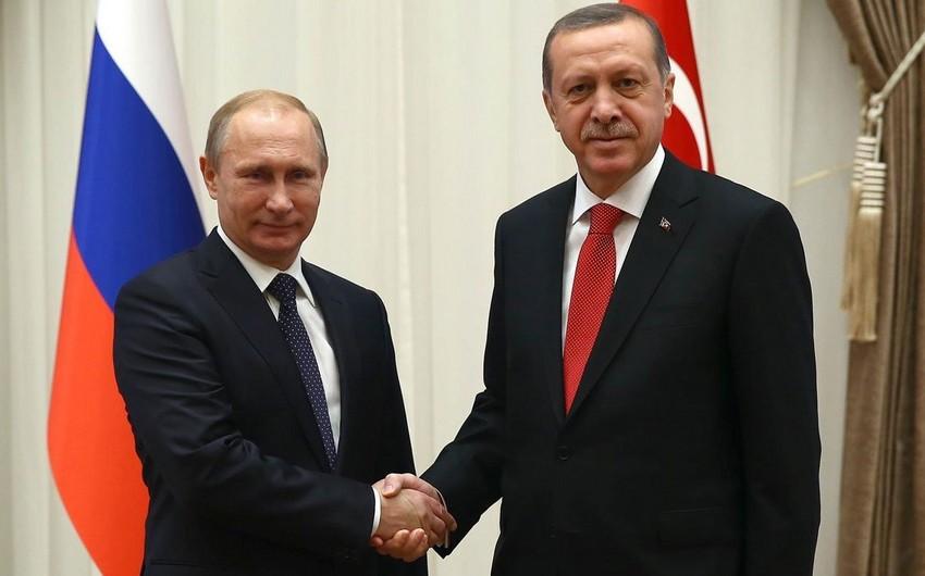 Putinlə Ərdoğan G20 sammitində görüşəcək