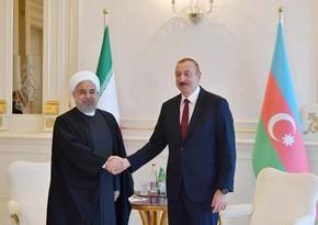 Həsən Ruhani Azərbaycan Prezidentinə zəng etdi