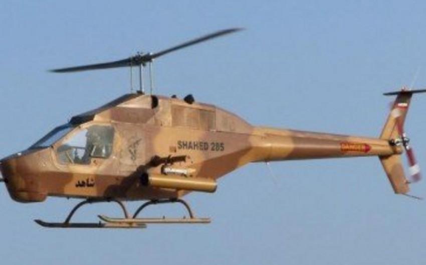 Tehranda hərbi helikopter qəzaya uğrayıb, 3 nəfər ölüb
