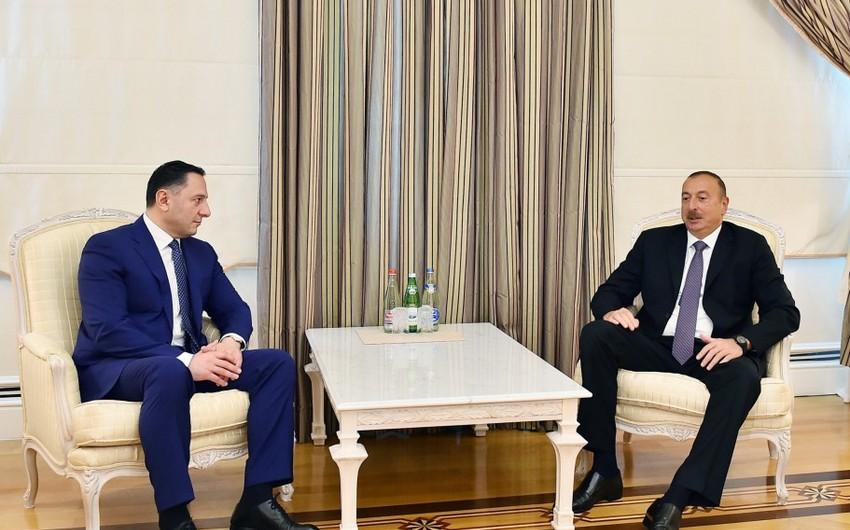 Президент Ильхам Алиев принял начальника Службы государственной безопасности Грузии - ДОПОЛНЕНО