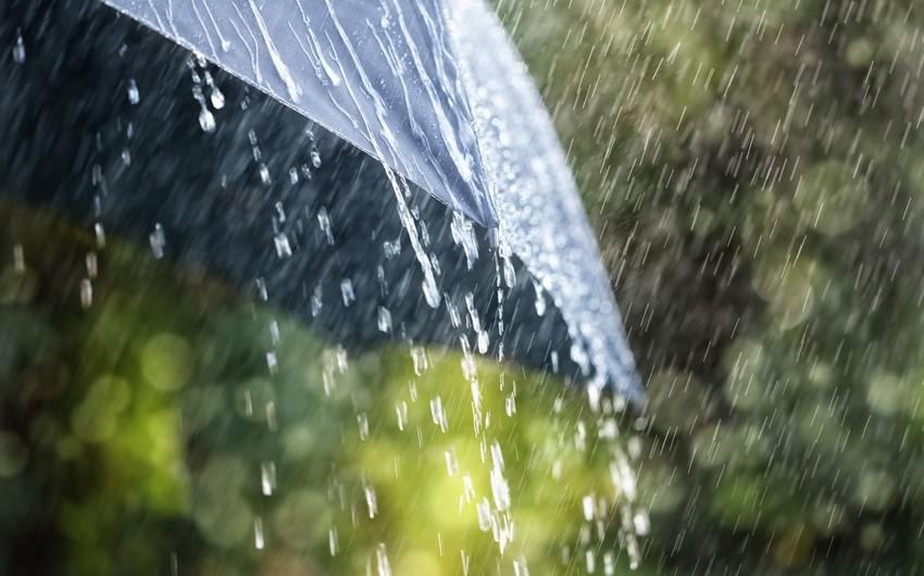 Rain and hail expected in Azerbaijan tomorrow