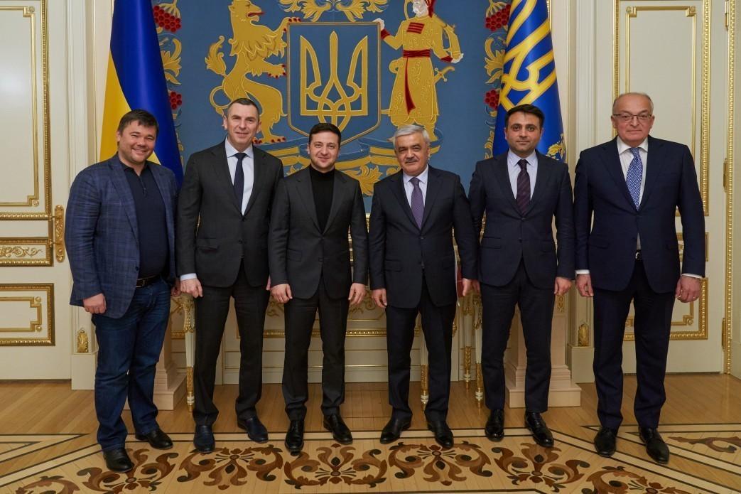 Vladimir Zelenski SOCAR prezidenti ilə görüşüb
