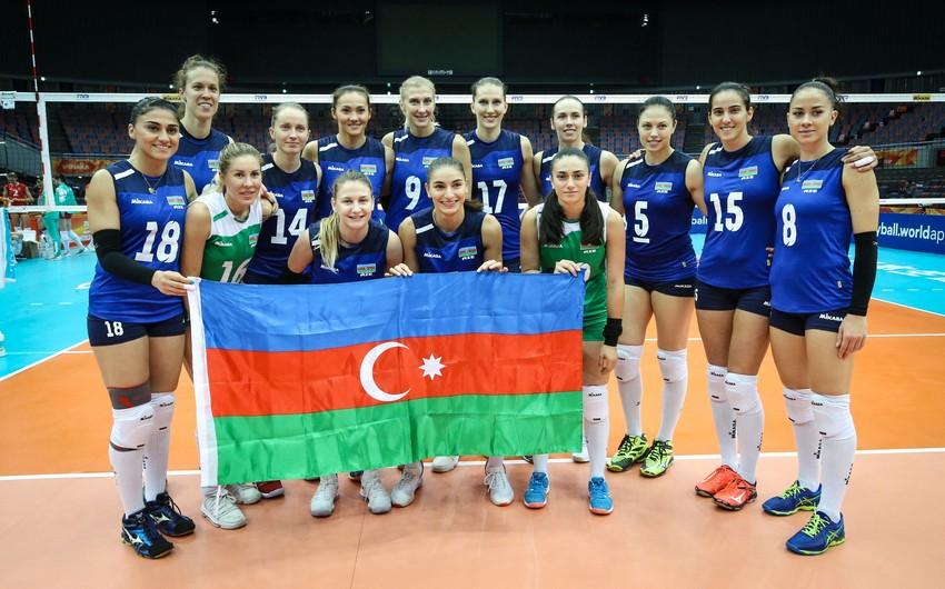 Voleybol üzrə Azərbaycan millisi dünya çempionatında çıxışını başa vurub