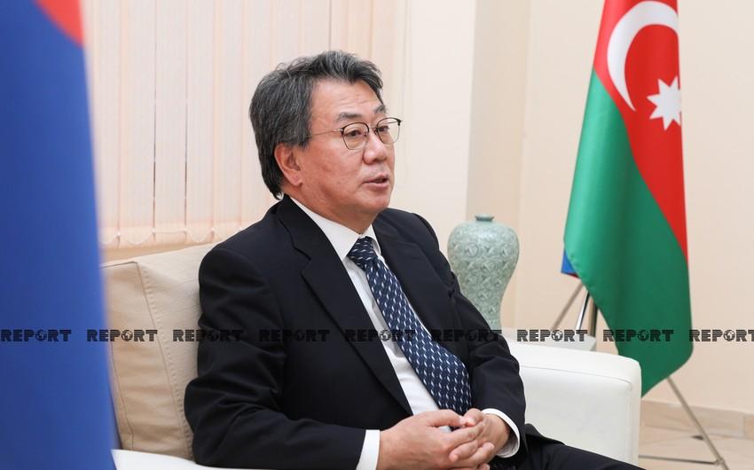 Korean ambassador: Azerbaijan has big potential for development of cooperation