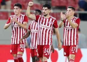 Olimpiakosun 8 futbolçusu Neftçiyə qarşı oynamayacaq
