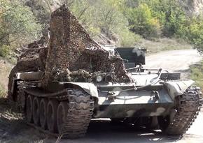 Бои на Губадлинском направлении - враг бежал, бросив технику