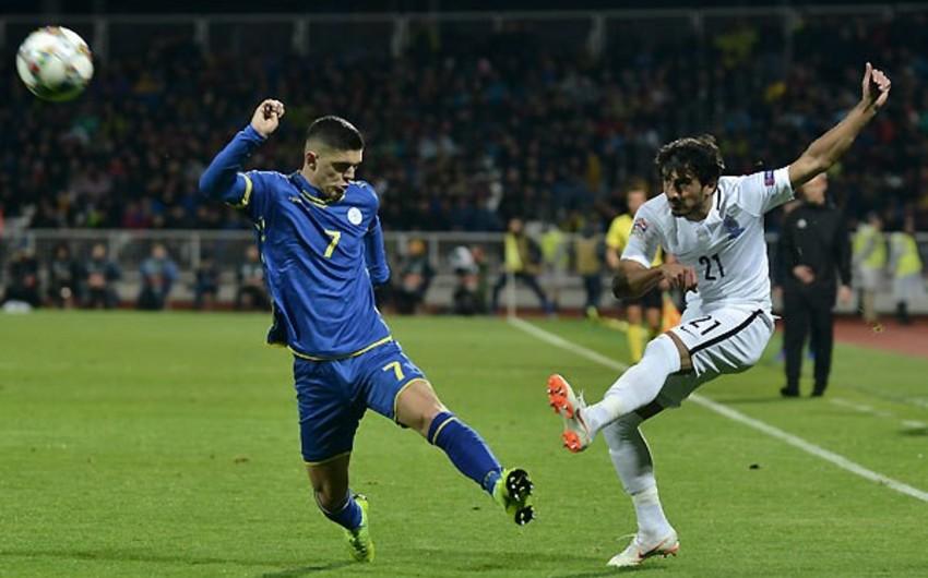 UEFA Millətlər Liqası: Kosovo yığması Azərbaycan millisinə böyük hesabla qalib gəlib - VİDEO - FOTO