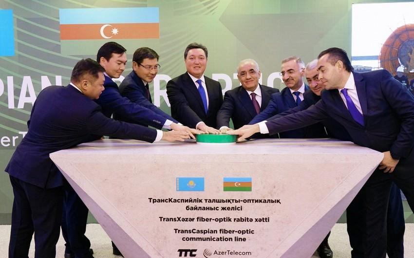 Azərbaycan və Qazaxıstan Avropa və Asiya arasında rəqəmsal telekommunikasiya dəhlizi yaradır