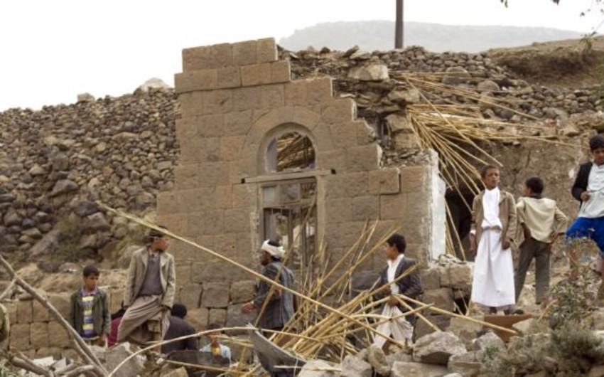 Koalisiya qüvvələri Yəməndə hutilərin mövqelərini bombalayır