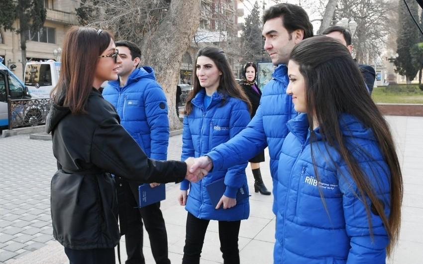 Первый вице-президент Азербайджана Мехрибан Алиева находится с визитом в Гяндже