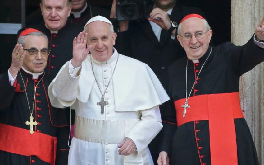 Roma papası ABŞ Konqresində çıxış edəcək