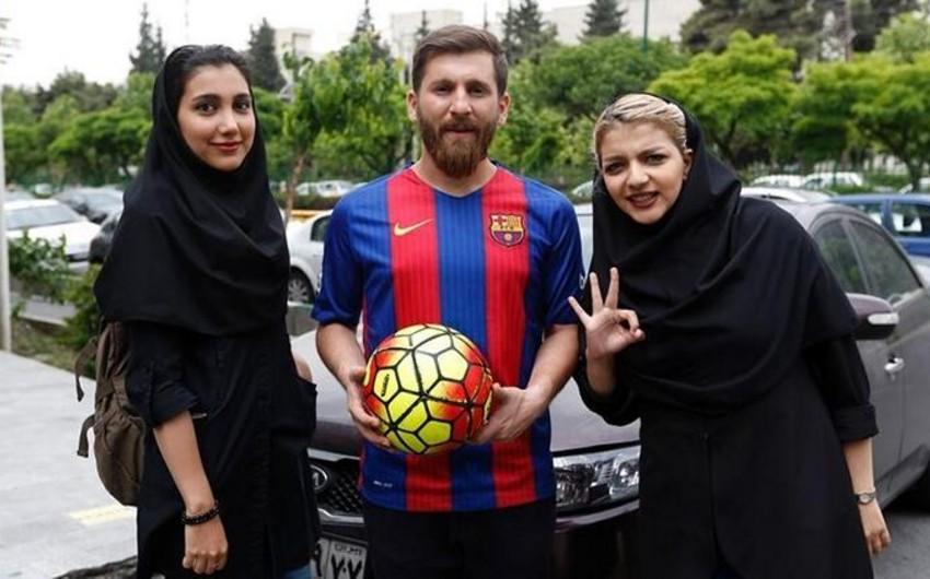 Lionel Messinin İrandakı bənzəri 23 qadını aldadıb