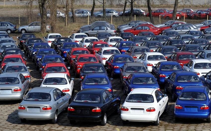 Azərbaycana avtomobil idxalı 22% artıb