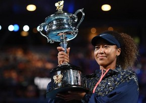Japanese tennis player wins Australian Open