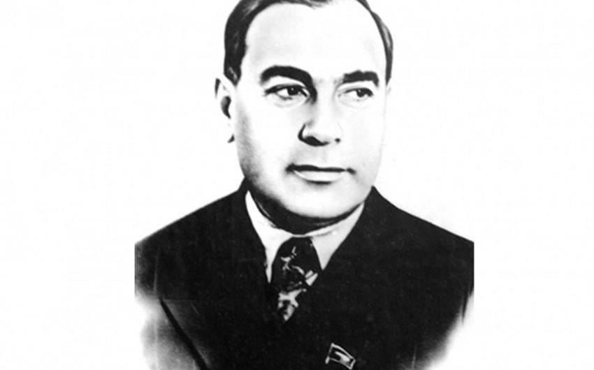 Отметят 120-летний юбилей выдающегося государственного деятеля и деятеля науки Азиза Алиева