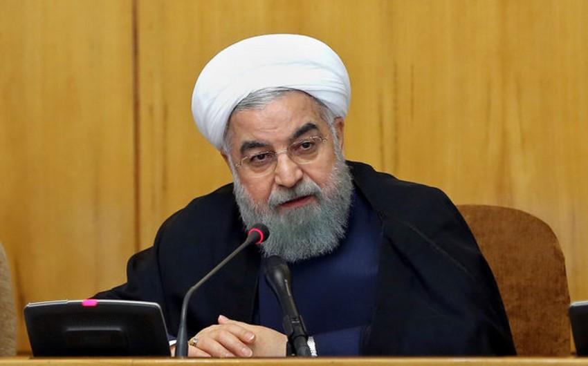 Həsən Ruhani: İranın hava müdafiə sistemindəki çatışmazlıqlar aradan qaldırılmalıdır