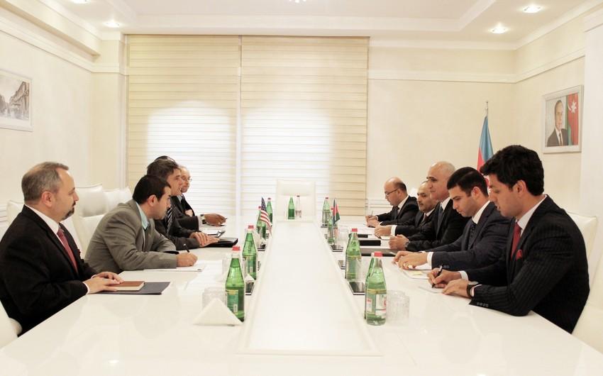 Azərbaycan-ABŞ iqtisadi əlaqələri müzakirə edilib