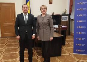 Ukraynanın Təhsil və elm naziri Liliya Qrineviç