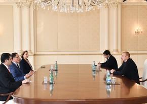 Президент Ильхам Алиев принял главного омбудсмена Турции