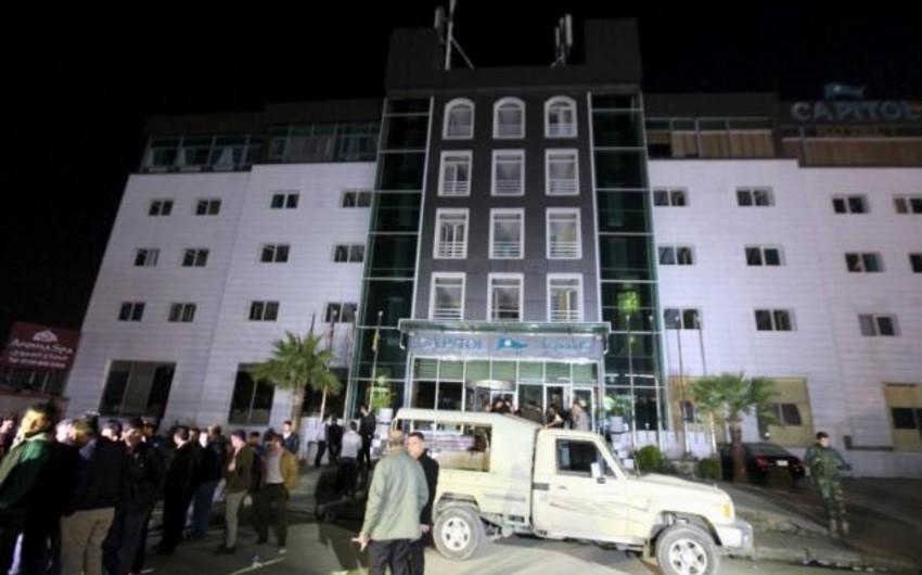 İraqın Ərbil şəhərində otel yanıb, 17 nəfər ölüb