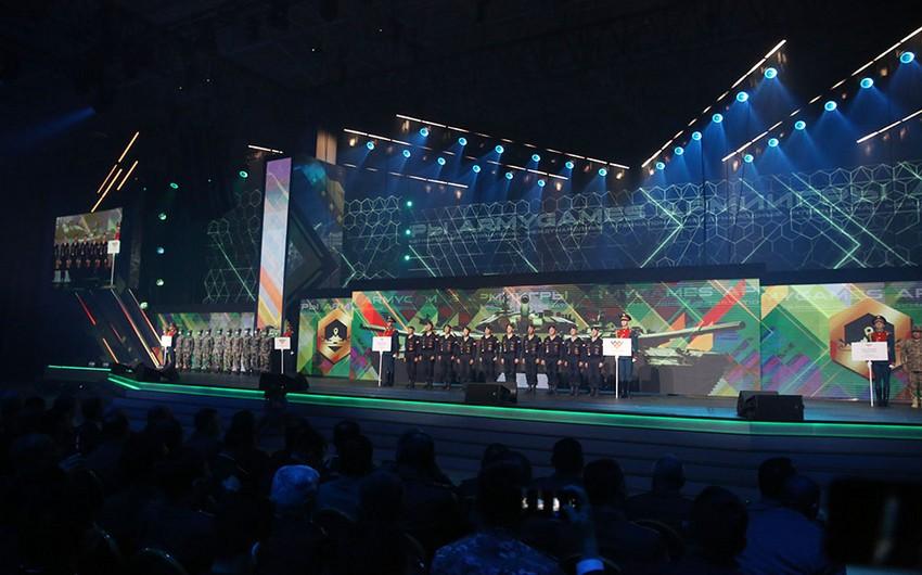 """""""Beynəlxalq Ordu Oyunları - 2021"""" yarışlarının bağlanış mərasimi keçirilib"""