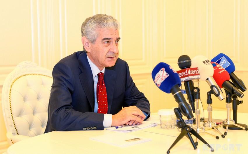 Заместитель премьер-министра: В Азербайджане с 2003 года создано 1,9 млн новых рабочих мест