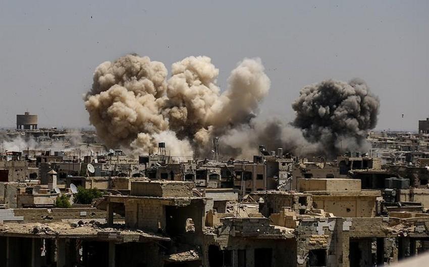 İraqın Hərbi Hava Qüvvələri İŞİD-in Suriyadakı mövqelərinə zərbələr endirib