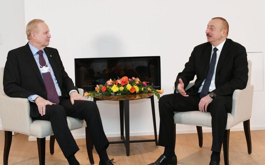 В Давосе состоялись обсуждения нового проекта по разработке блока месторождений Азери-Чираг-Гюнешли