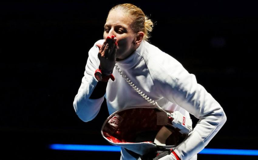 Macar qılıncoynadan Emeşe Sas Olimpiadanın qızıl medalını qazanıb