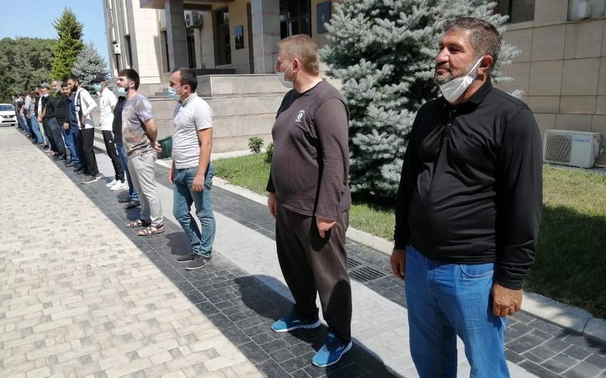 Polis Ceyranbatanda axund da daxil olmaqla 29 nəfəri cərimələdi