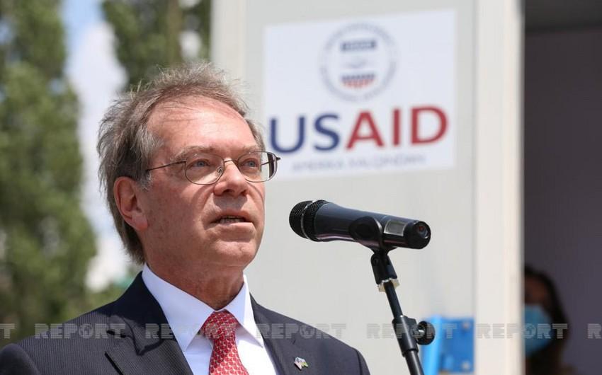 Посол: Компании США вовлечены в процесс восстановления возвращенных территорий - ЭКСКЛЮЗИВ