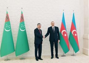 Президент Азербайджана позвонил Гурбангулы Бердымухамедову