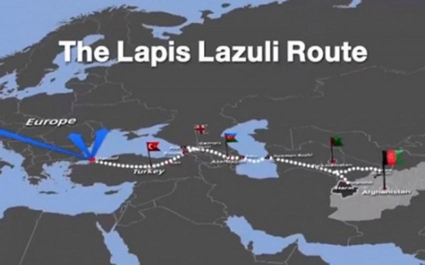 Azərbaycanın iştirakçısı olduğu Lapis-Lazuli marşrutu ilə yükdaşımalarına başlanılıb
