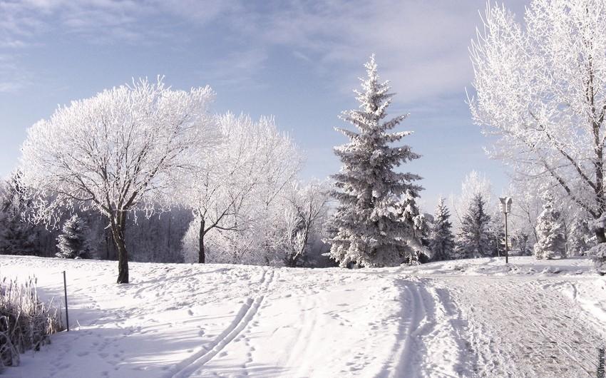Высота снежного покрова в Гедабеке достигла 22 см - ФАКТИЧЕСКАЯ ПОГОДА
