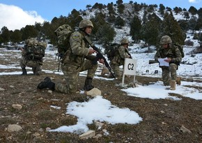 Azərbaycan Ordusunun desantları Türkiyədə təlim keçir