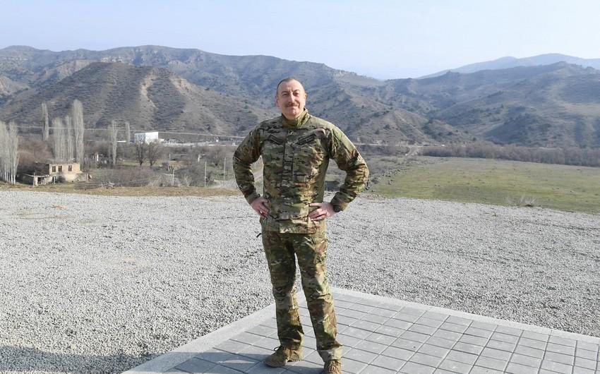 Zəngilandan Naxçıvana avtomobil yolu salınacaq
