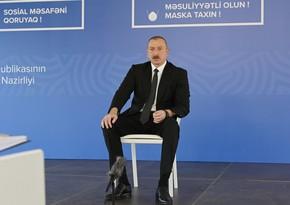 Ильхам Алиев: Позорный случай, произошедший в известном отеле, невыносим