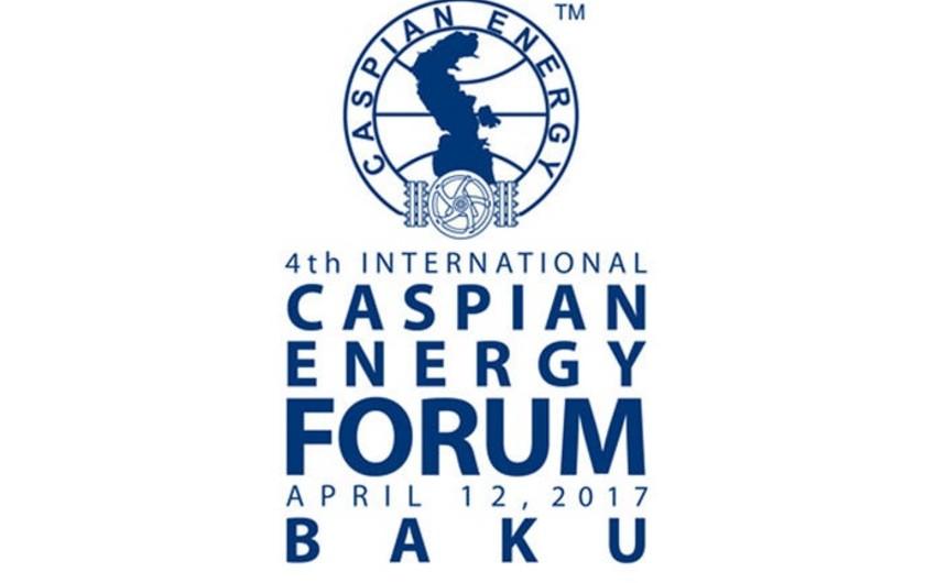 Bakıda Caspian Energy Forum-2017 işə başlayıb