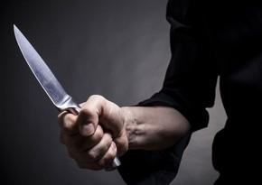 Qazaxda yerli sakin bıçaqlandı